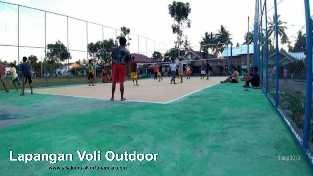 Lapangan Bola Voli Outdoor