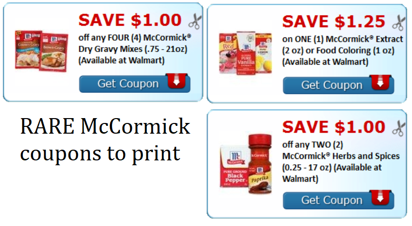 McCormick Coupons: Save on Food Coloring, Gravy Mixes ...