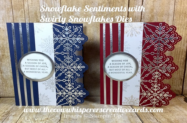 Snowflake Sentiments, Christmas Card