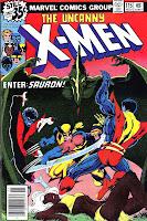 X-men v1 #115 marvel comic book cover art by John Byrne