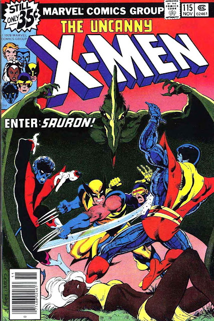 X-men v1 #115 marvel comic book cover art by John Byrne
