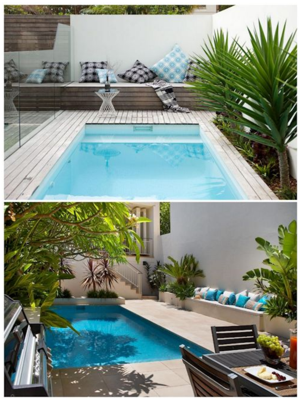Gabilio Home And Garden Modern Swimming Pools For Small Back Gardens