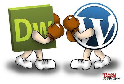 Dreamweaver vs Wordpress, creación de páginas webs