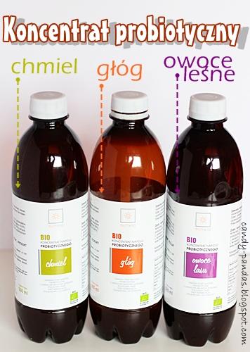 Koncentrat probiotyczny chmiel/głóg/owoce leśne – Sunvio