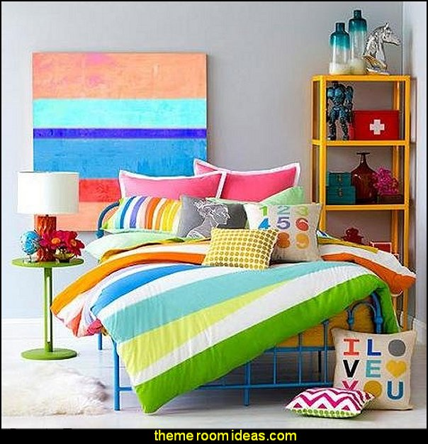 Rainbow Wrap Mini Comforter Bedding Set