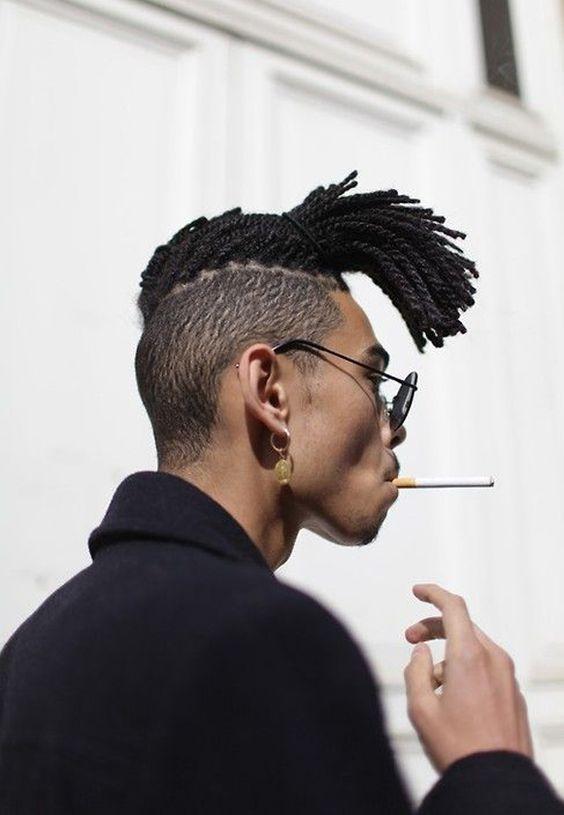 Corte de Cabelo Masculino Crespo Afro