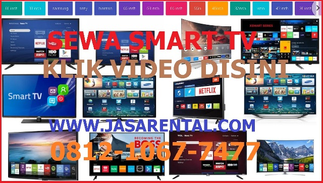 HARGA SEWA SMART TV