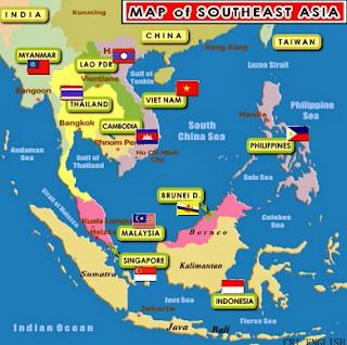 Mata Pencaharian Penduduk di Asia Tenggara