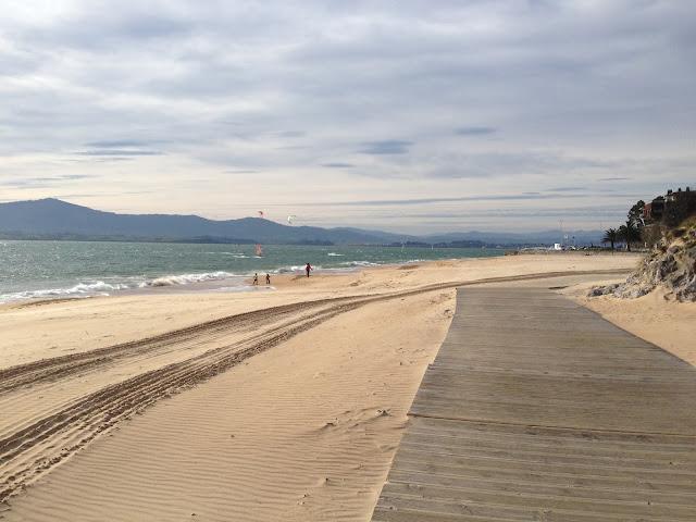 playa del bikini en Santander