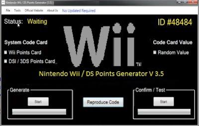 Wii ticket code generator no Download