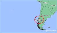 Ubicación de Valdivia