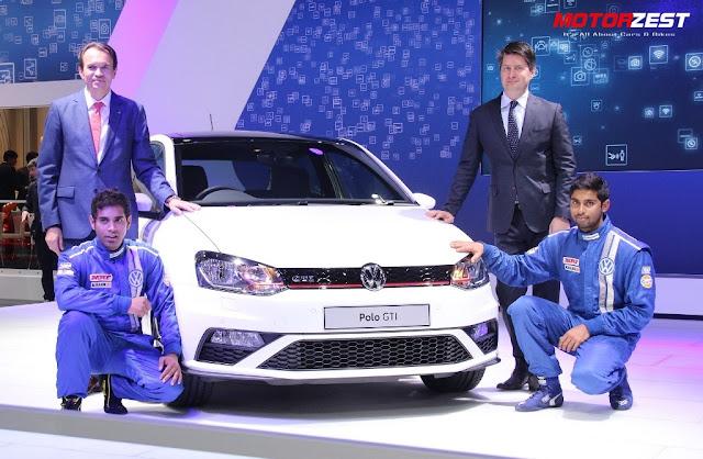 VW Polo GTI Delhi Auto Expo 2016