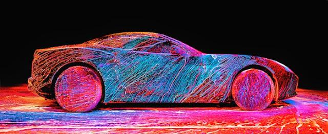 La esencia del Ferrari California T por Fabian Oefner