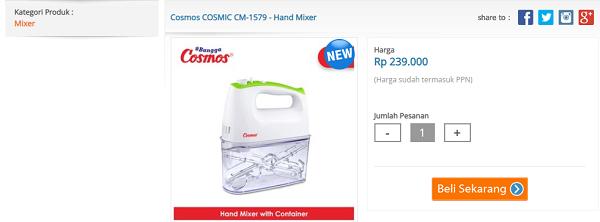 mixer Cosmos