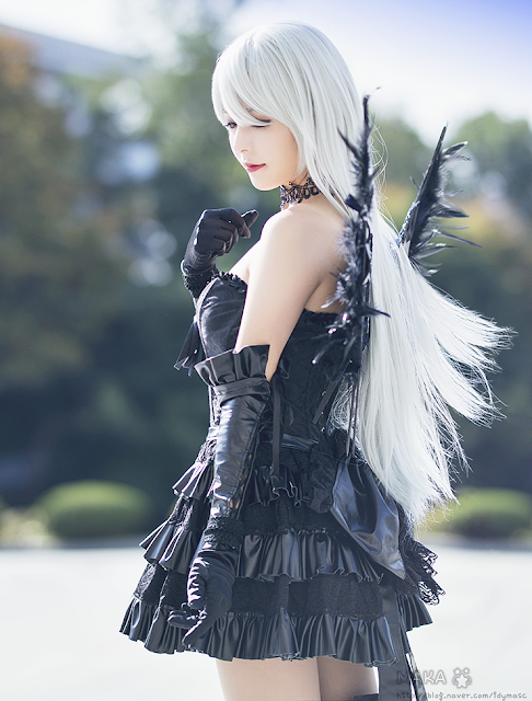 Galeri Foto Cosplay Dark Angel Blade and Soul