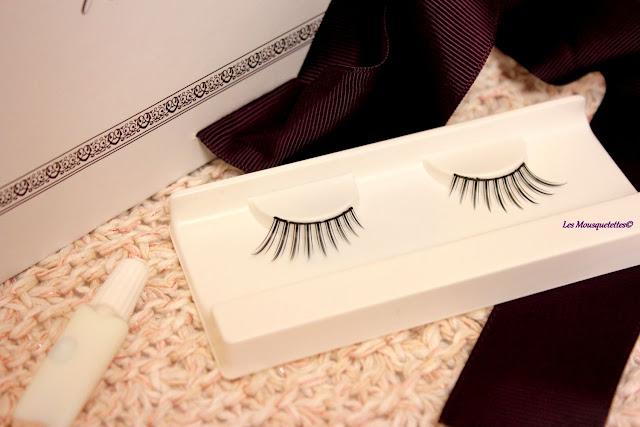 Faux-cils - L'Atelier Maquillage Paris - Blog beauté Les Mousquetettes©