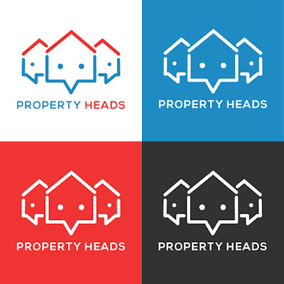 Property Heads Logo Color Options