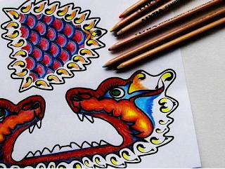 http://www.woojr.com/dragon-paper-craft/