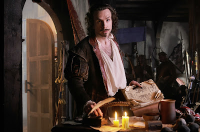 Rafe Spall as William Shakespeare in Anonymous, Directed by Roland Emmerich
