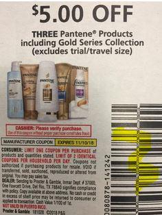 Pantene coupon