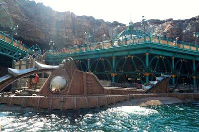 Mysterious Island at Tokyo Disneysea Japan