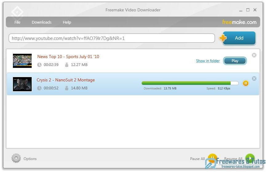 logiciel getgo youtube downloader