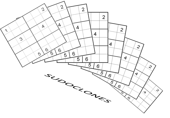 Logic Masters India Sudoku Test named SudoClones-Fun With