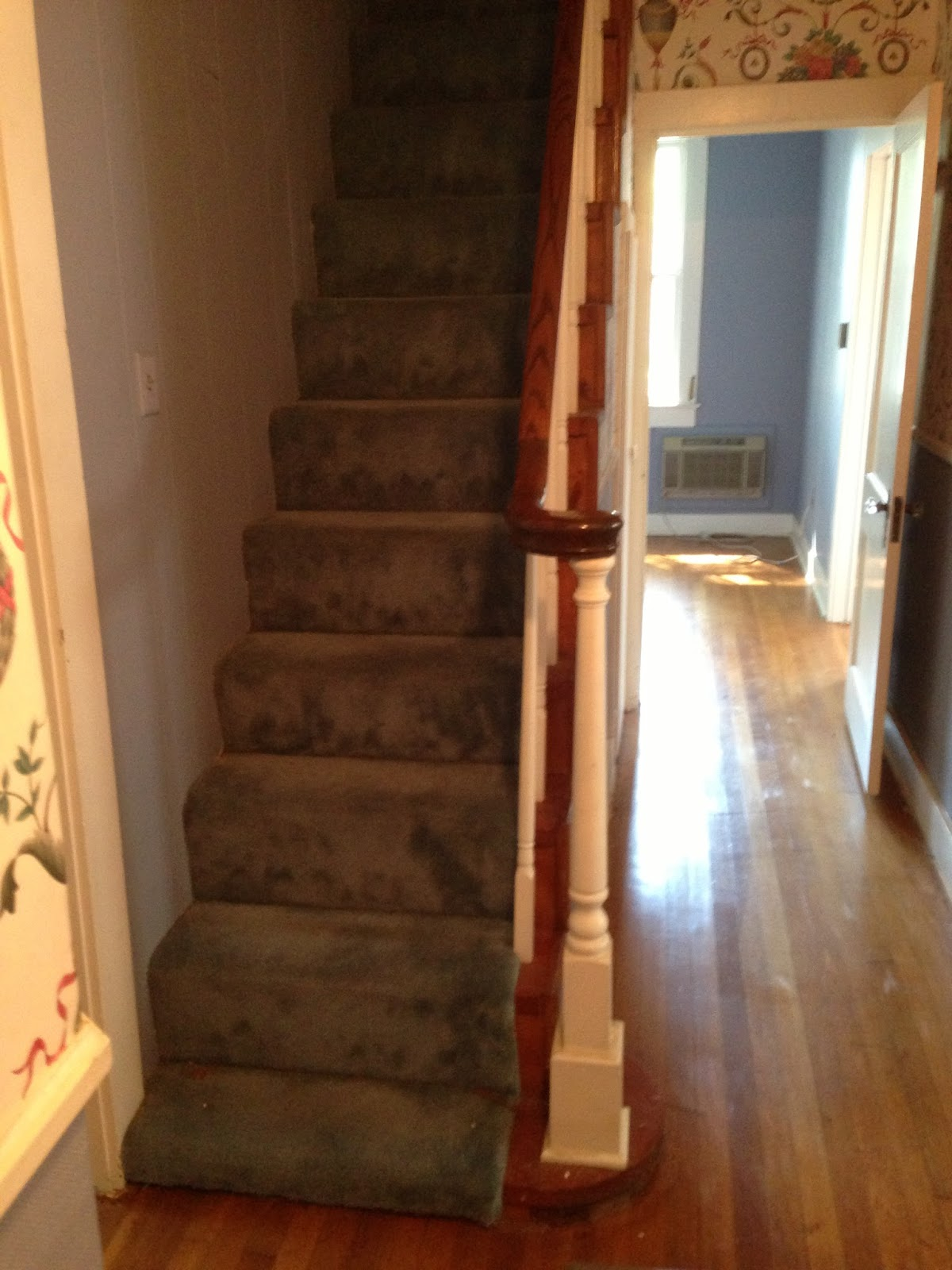 The Pink House Reno Staircase Reveal