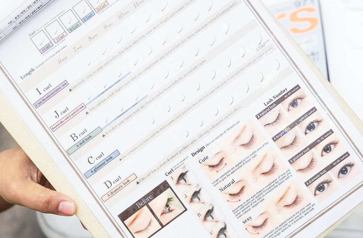 Pen My Blog: Japan\'s Blanc Eyelash Salon | The Eyelash Extension ...