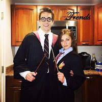 Disfraces de Harry Potter para parejas