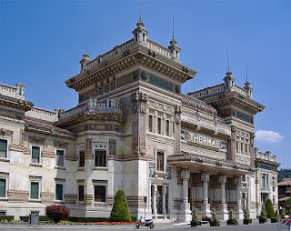 The Liberty-style baths at Salsomaggiore Terme