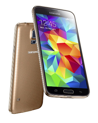 "Samsung Galaxy S5 Plus Specifications - LAUNCH Announced 2014, October Status Also known as Samsung Galaxy S5 Plus G901F DISPLAY Type Super AMOLED capacitive touchscreen, 16M colors Size 5.1 inches (~69.6% screen-to-body ratio) Resolution 1080 x 1920 pixels (~432 ppi pixel density) Multitouch Yes Protection Corning Gorilla Glass 3  - TouchWiz UI BODY Dimensions 142 x 72.5 x 8.1 mm (5.59 x 2.85 x 0.32 in) Weight 145 g (5.11 oz) SIM Micro-SIM  - IP67 certified - dust and water resistant - Water resistant up to 1 meter and 30 minutes PLATFORM OS Android OS, v4.4.2 (KitKat) CPU Quad-core 2.5 GHz Krait 450 Chipset Qualcomm Snapdragon 805 GPU Adreno 420 MEMORY Card slot microSD, up to 256 GB (dedicated slot) Internal 16/32 GB, 2 GB RAM CAMERA Primary 16 MP, phase detection autofocus, LED flash Secondary 2 MP, 1080p@30fps, dual video call Features 1/2.6"" sensor size, 1.12 µm pixel size, geo-tagging, touch focus, face/smile detection, panorama, HDR Video 2160p@30fps, 1080p@60fps, 720p@120fps, HDR, dual-video rec NETWORK Technology GSM / HSPA / LTE 2G bands GSM 850 / 900 / 1800 / 1900 3G bands HSDPA 850 / 900 / 1900 / 2100 4G bands LTE band 1(2100), 2(1900), 3(1800), 5(850), 7(2600), 8(900), 20(800) Speed HSPA 42.2/5.76 Mbps, LTE Cat6 300/50 Mbps GPRS Yes EDGE Yes COMMS WLAN Wi-Fi 802.11 a/b/g/n/ac, dual-band, Wi-Fi Direct, hotspot NFC Yes GPS Yes, with A-GPS, GLONASS, BDS USB microUSB v3.0 (MHL 2.1 TV-out), USB Host Radio No Bluetooth v4.0, A2DP, EDR, LE, aptX FEATURES Sensors Sensors Fingerprint, accelerometer, gyro, proximity, compass, barometer, gesture, heart rate Messaging SMS(threaded view), MMS, Email, Push Mail, IM Browser HTML5 Java No SOUND Alert types Vibration; MP3, WAV ringtones Loudspeaker Yes 3.5mm jack Yes  - 24-bit/192kHz audio - Active noise cancellation with dedicated mic BATTERY  Removable Li-Ion 2800 mAh battery Stand-by  Talk time Up to 20 h (3G) Music play Up to 75 h MISC Colors Charcoal Black, Copper Gold, Electric Blue, Shimmery White SAR US 1.09 W/kg (head)     1.29 W/kg (body) SAR EU 0.61 W/kg (head)     0.38 W/kg (body)      - Qi wireless charging (market dependent) - ANT+ support - S-Voice natural language commands and dictation - Air gestures - Dropbox (50 GB cloud storage) - MP4/DivX/XviD/WMV/H.264 player - MP3/WAV/WMA/eAAC+/FLAC player - Photo/video editor - Document viewer"