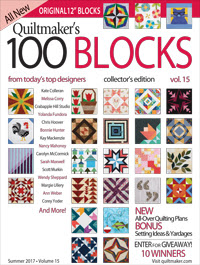 QM 100 block magazine volume 15 cover