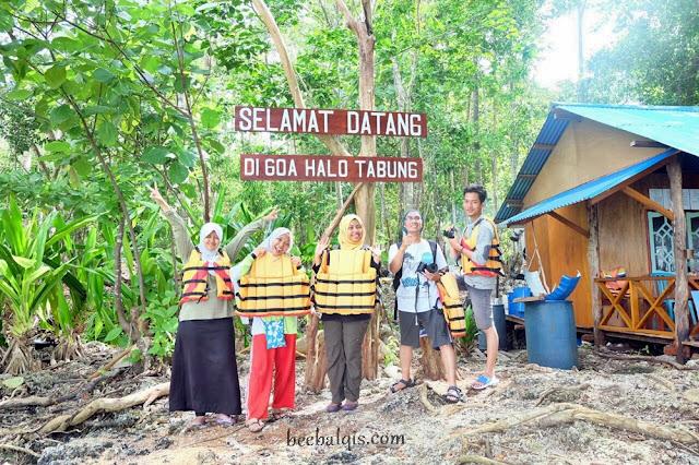 Goa Halo Tabung di Kalimantan Timur