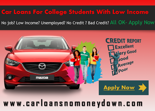 Car Loans For Students With Low Income