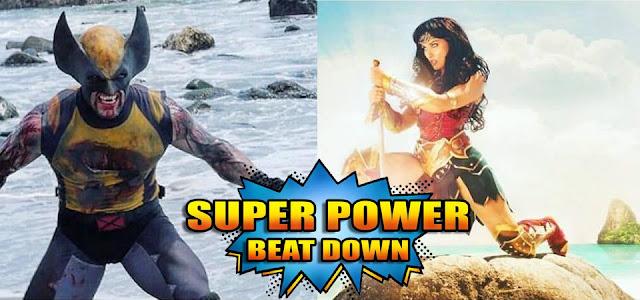 duelo de super herois