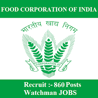 Food Corporation of India, FCI, Punjab, FCI Punjab, 10th, Watchman, freejobalert, Sarkari Naukri, Latest Jobs, hot job, fci punjab logo