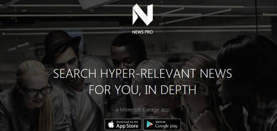 news pro app by microsoft