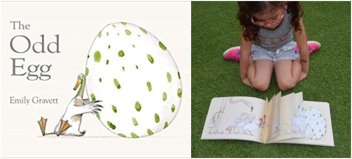 los mejores cuentos y libros infantiles en inglés The odd egg emily gravett