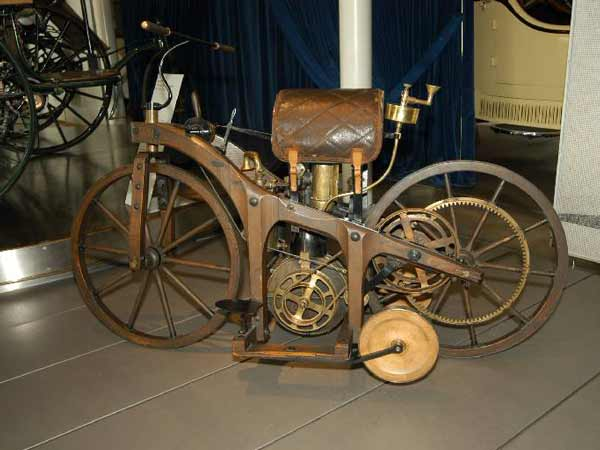Fem Museum first motorcycle