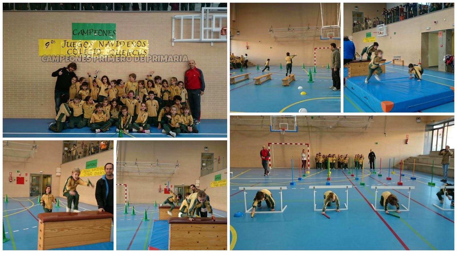 Educacion Fisica Juegos Navidenos De Primaria