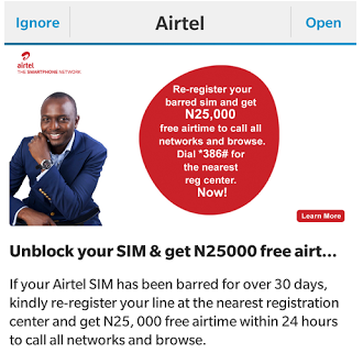 How To Get Free N25,000 Credit On Your Airtel SIM