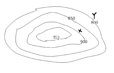 Menghitung Derajat Kemiringan Lereng Peta Topografi