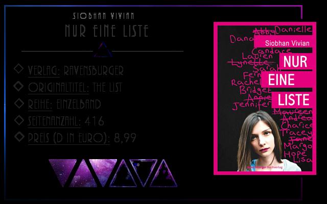 [Rezension] Nur eine Liste - Vivian Siobhan