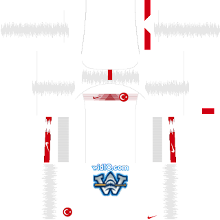 Türkiye - Euro 2020 Dream League Soccer DLS/FTS 19 Forma ve Logo