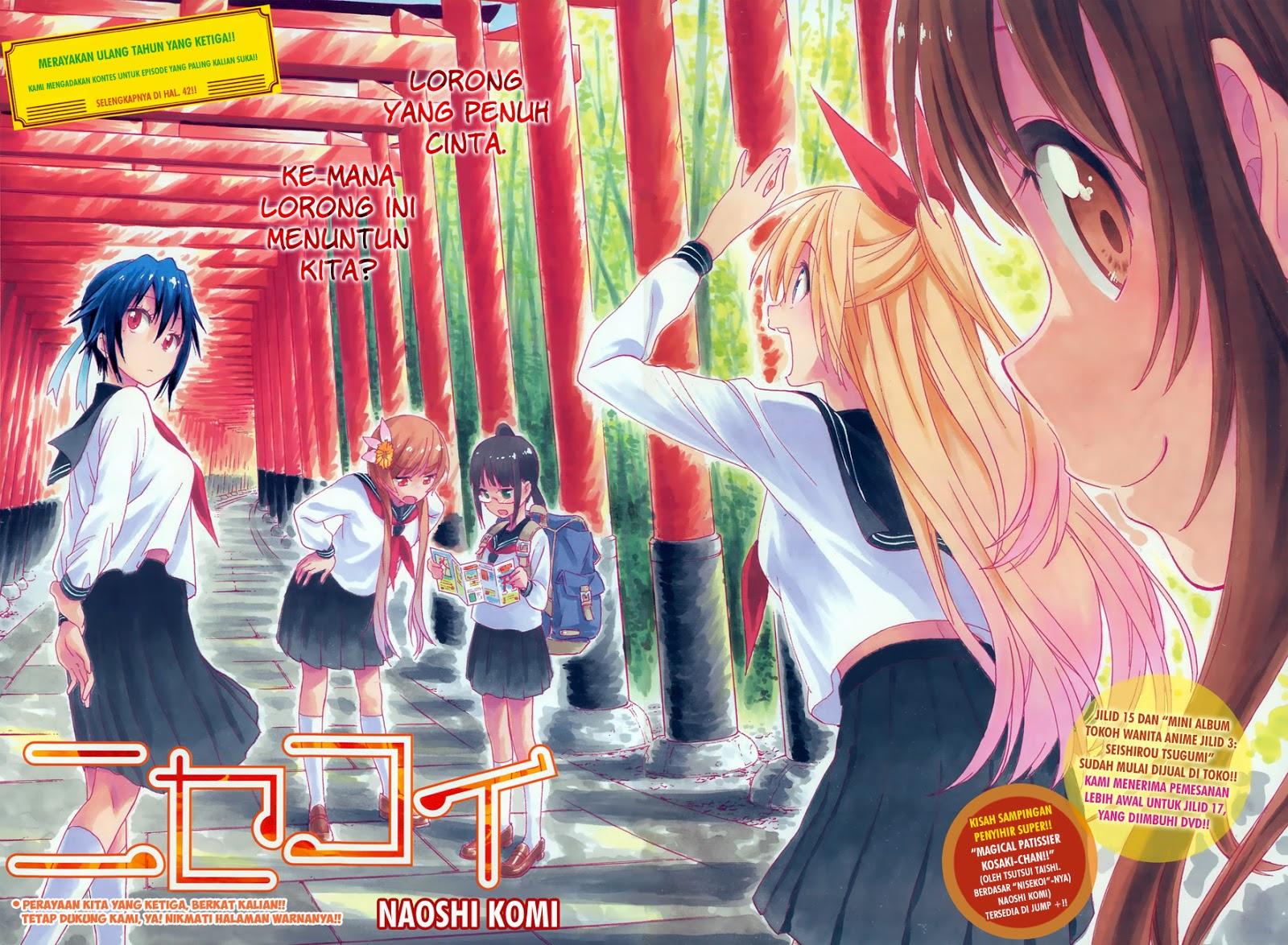Dilarang COPAS - situs resmi www.mangaku.in - Komik nisekoi 150 - menyusun kelompok 151 Indonesia nisekoi 150 - menyusun kelompok Terbaru 3|Baca Manga Komik Indonesia|