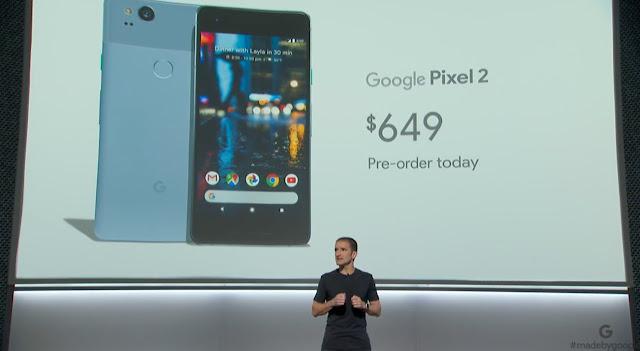 Google Pixel 2, Google Pixel 2 XL Launch Event LIVE
