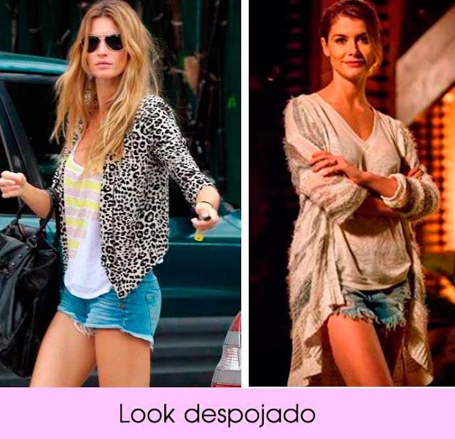 Looks jeans Kate Moss e Aline Moraes