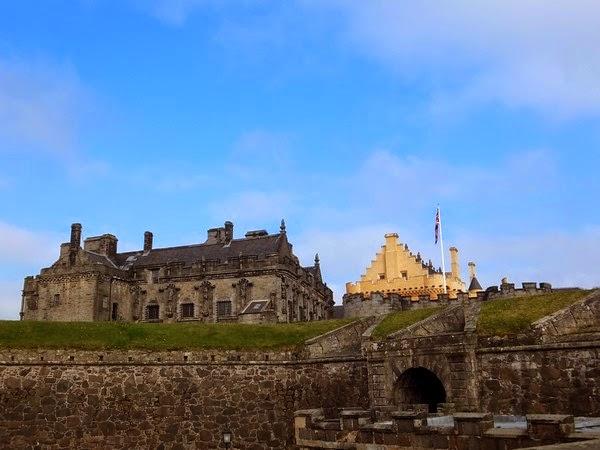 Stirling écosse scotland castle château