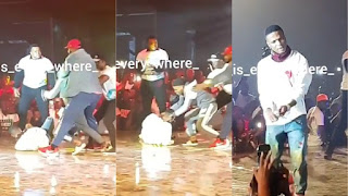 VIDEO: See How Wizkid Was Mobbed By Fans At Ghana Meets Naija 2018